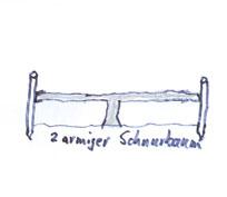 2 armiger Schnurbaum