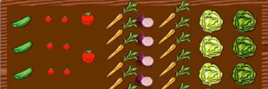 Beispiel zum Anpflanzen für Gemüse und Obst